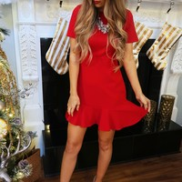 Mrs. Claus Dress: Red