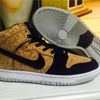 Nike Dunk High Premium SB Cork 313171-026 Size 36-44