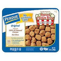 PERDUE FULLY COOKED BREADED POPCORN CHICKEN 12 OZ
