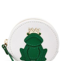 Women's kate spade new york 'wedding belles frog' leather coin purse
