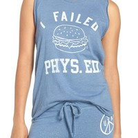 Junk Food 'I Failed Phys. Ed.' Graphic Tank | Nordstrom