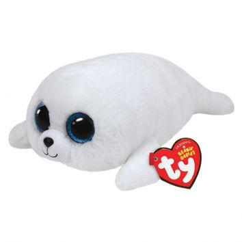 ICY SEAL 6 INCH BEANIE BOO | GIRLS SMALL PLUSH STUFFED ANIMALS | SHOP JUSTICE