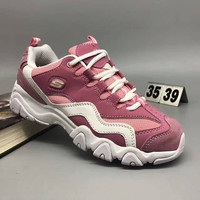 """""""SKECHERS"""" Fashion Tide Casual Multicolor Thick Bottom Sneakers Women Panda Running Shoes"""