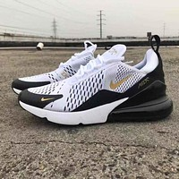 NIKE AIR MAX 270 men's and women's atmospheric cushion sports shoes