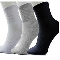 Men Socks Cotton Classic Casual Socks 10pairs