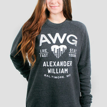 Glamour Kills - Girls AWG Live Young Crewneck Pullover