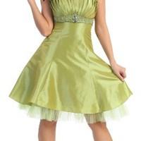 US Fairytailes Strapless Fancy Party Junior Prom Dress #2596