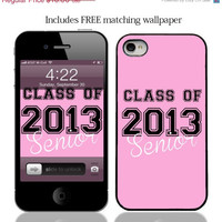 ON SALE Senior Class of 2013 Case for iPhone 4 by JWCDesignz
