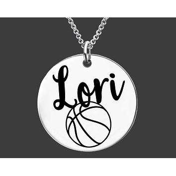 Basketball Necklace | Personalized Necklace