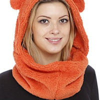 GILBIN'S Unisex Fuzzy Animal Winter Hats