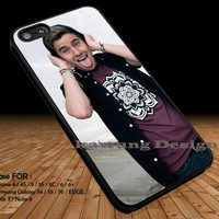 Connor Franta Funny Face iPhone 6s 6 6s+ 5c 5s Cases Samsung Galaxy s5 s6 Edge+ NOTE 5 4 3 #music #o2l DOP2233