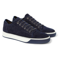 PRODUCT - Lanvin - Suede Sneakers - 397004   MR PORTER