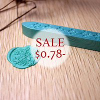 1 pc Wicked Sealing Wax Stick for Wax Seal Stamp - Aqua green