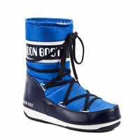 Moon Boot  Women Blue Boots