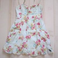 Abercrombie and Fitch Floral Solid Logo Summer Dresses Pretty XS S
