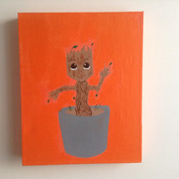 canvas, art, acrylic, painting, original, size 24-30cm, groot, wall decor, wall hanging