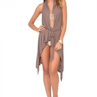 Luli Fama Wrap Dress - Sandy Toes