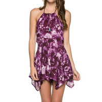 Tie Dye Cut Out Romper