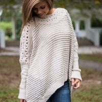 On To The Next Sweater, Taupe