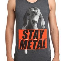 Miss May I Stay Metal Goat Tank Top - 10006578