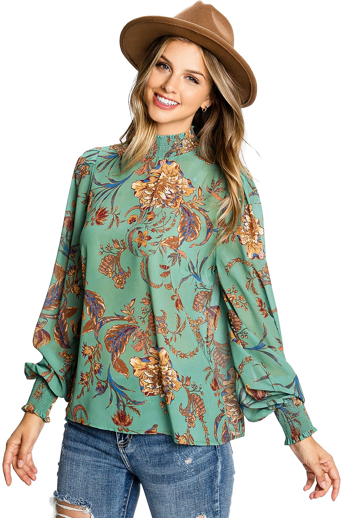 Image of Baroque Blouse