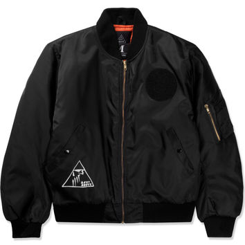 A Cut Above Black Pyramid MA-1 Jacket | HYPEBEAST Store. Shop Online for Men's Fashion, Streetwear, Sneakers, Accessories