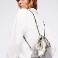 Free People Chainmail Mini Backpack