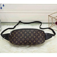 LV Louis Vuitton Women Shopping Leather Purse Waist Bag Single-Shoulder Bag Crossbody