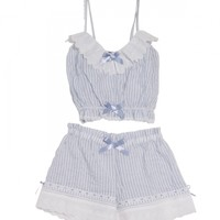 『VB』Lace camisole&shorts