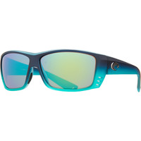 Costa Cat Cay Limited Edition Polarized Sunglasses - 400 Glass Lens Matte Caribbean