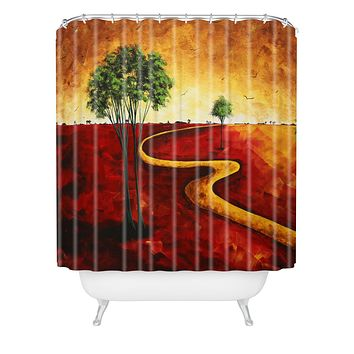 Madart Inc. Road To Nowhere 2 Shower Curtain