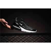 Nike Air Max 270 Black White AH8050-002 Sport Running Shoes