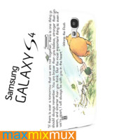 Winnie The Pooh Quote Samsung Galaxy Series Full Wrap Cases