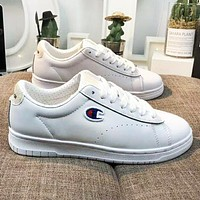 Champion 93 Eighteen Suede Chenille New Fashion Embroidery Logo Women Men High Quality Shoes White