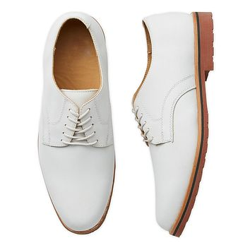 Classic White Suede Sport Buck by Country Club Prep