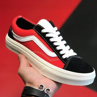 Trendsetter VANS Old Skool Print Canvas Flats Shoes Sneakers Sport Shoes