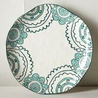 Gloriosa Dinner Plate by Anthropologie