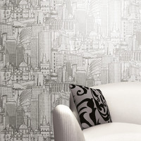 Great Expectations Wallpaper in Metallics design design by York Wallcoverings