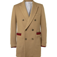 PRODUCT - Band of Outsiders - Double-Breasted Wool-Blend Corduroy Coat - 373832 | MR PORTER