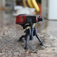 Team Fortress 2 Sentry Turret in full color! (TF2)