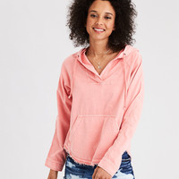 AE Military Popover Hoodie, Peach