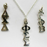 Greek Lavalier | Sorority and Fraternity necklaces, gifts and jewelry from SomethingGreek.com