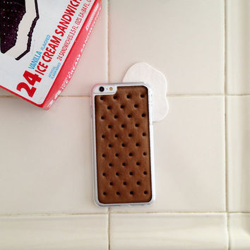 Ice Cream Sandwich, Phone Case for iPhone 4/4s, 5/5s, 6/6s+ and iPod Touch 5