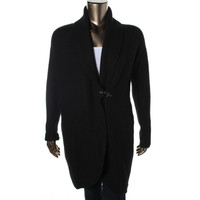 One A Womens Knit Oversized Cardigan Sweater