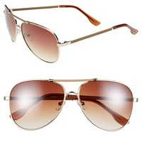 Women's Icon Eyewear 60mm Aviator Sunglasses