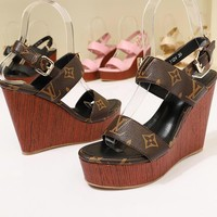 Louis Vuitton LV Women Fashion High Heels Shoes
