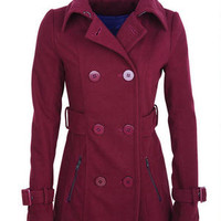 Zip Pocket Peacoat with Thinsulate™