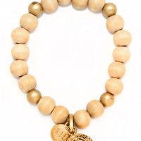 Tanoak Wood Fragrance Bracelet