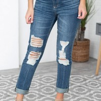 Girlfriend Distressed Dear John Jeans