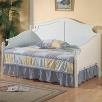A.M.B. Furniture & Design :: Bedroom furniture :: Day Beds :: White finish wood day bed